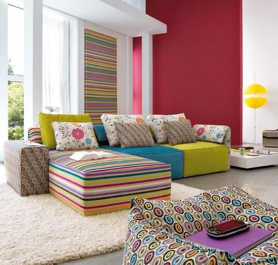 Φωτεινές-και-πολύχρωμες-Ιδέες-σχεδιασμού-σαλονιού56